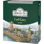 Чай черный «Ahmad Tea» бергамот 100 пакетиков.