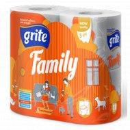 Туалетная бумага «Grite» Family 4 шт.