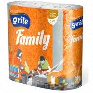 Бумажные полотенца «Grite» Family mix, 2 шт.