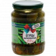 Огурцы маринованные «Приятного аппетита» 6-9 см, 680 г.