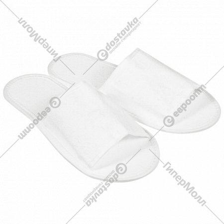 Тапочки одноразовые махровые «Банные штучки» для бани и сауны.