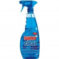 Средство «Sano» сlear, для чистки стекол, 1000 мл.