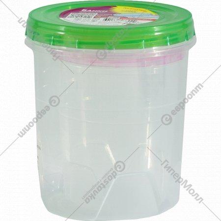 Банка c крышкой для хранения продуктов, 0.6+1.3 л, 2 шт.