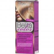 Краска стойкая для волос «Belita сolor» 8.31, пшеница.