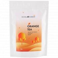 Чай апельсиновый «Royal Forest» черный чай ассам, апельсин, кэроб, 75 г.