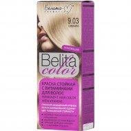 Краска стойкая для волос «Belita сolor» 9.03, саванна.