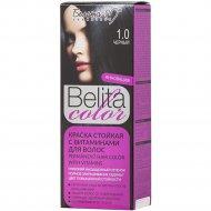 Краска стойкая для волос «Belita сolor» 1.0, черный.