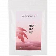 Чай ароматный фруктовый «Royal Forest» каркаде, яблоко, кэроб, 75 г.