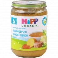Крем-суп «Hipp» овощной с кабачком и индейкой, 190 г.