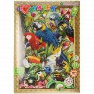 Набор для изготовления картины «Я люблю птичек»