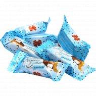 Конфеты глазированные «Коммунарка» нежное суфле ванильное, 1 кг., фасовка 0.35-0.4 кг