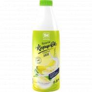 Напиток кефирный «1М» Кефирок, банан, 1.8%, 900 г