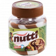 Паста ореховая «Nutti» шоколадно-молочная, 330 г.