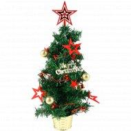 Украшенная новогодняя елка, 50см