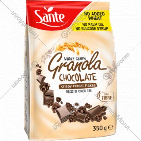 Хрустящие мюсли «Гранола» с шоколадом, 350 г.