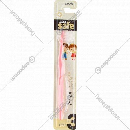 Зубная щетка «Kids safe» детская, с ионами серебра, №3.