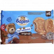 Бисквитное пирожное «Медвежонок Барни» оригинальный вкус, 180 г.