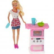 Кукла с аксессуарами «Defa» с мебелью, 8421
