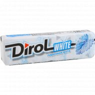 Жевательная резинка «Dirol» White, со вкусом перечной мяты, 13.6 г.