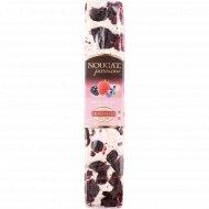 Мягкая нуга «Nougat passion» с кремом из лесных ягод, 100 г