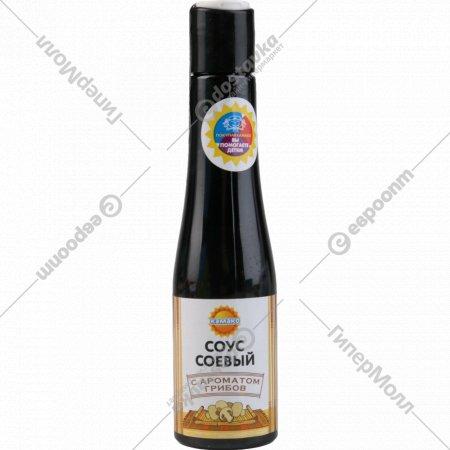 Соус соевый «Камако» с ароматом грибов, 180 г.