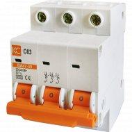 Автоматический выключатель ВА 47-39 С25А.
