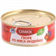 Консервы мясные «ОМКК» пюре из мяса индейки, 100 г