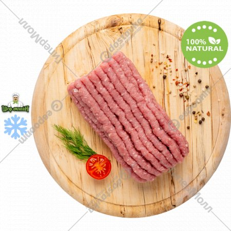 Фарш индейка - говядина замороженный, 1 кг.