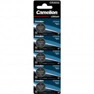 Комплект батареек «Camelion» CR2032-BP5B, 5 шт