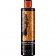 Гель-скраб очищающий для тела с африканским черным мылом, 250 г.