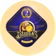 Сыр твёрдый «Dziugas» young, 40%, 180 г., фасовка 0.2-0.25 кг