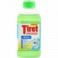 Очиститель для стиральных машин «Tiret» свежесть лимона, 250 мл.