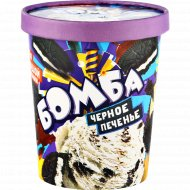 Мороженое «Бомба. Черное печенье» 450 г.