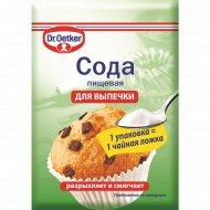 Сода пищевая «Dr.Oetker» 5 г.