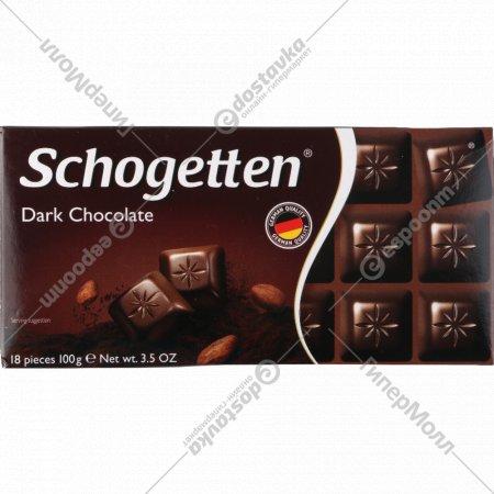 Шоколад «Dark Chokolate» темный 50%, 100 г.