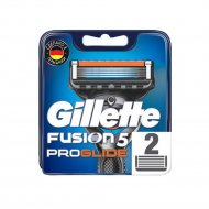 Сменные кассеты для мужской бритвы «Gillette» Fusion ProGlide, 2 шт.