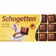 Шоколад молочный «Schogotten for Kids» 100 г.