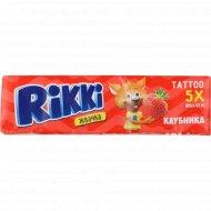 Жевательная резинка «Rikki» клубника, 20 г.
