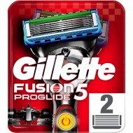 Кассета сменная «Gillette» Fusion Proglite Power, 2 шт.