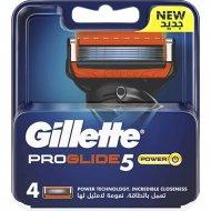 Сменные кассеты для бритвы «Gillette» Fusion ProGlide Power, 4 шт.