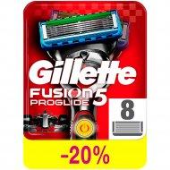 Сменные кассеты «Gllette» Fusion proglite Power, 8 шт.