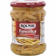 Фасоль спаржевая желтая «Rolnik» консервированная, 470 г