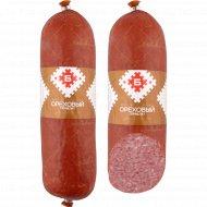 Колбаса варено-копченая салями «Сервелат ореховый» первого сорта,1 кг., фасовка 0.65-0.8 кг