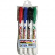 Набор маркеров для белой доски «Crown» 4 цвета.