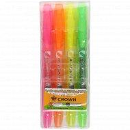 Набор маркеров «Crown» 4 цвета.
