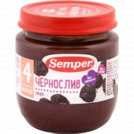 Пюре детское «Semper» чернослив 125 г.