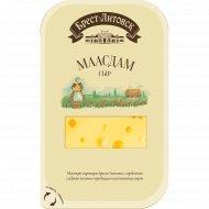Сыр полутвердый «Брест-Литовск Маасдам» 45%, 130 г.