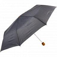 Зонт универсальный серый в полоску.