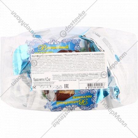 Конфеты глазированные «Волшебный гостинец» с кокосом, 200 г.