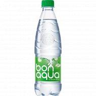 Вода питьевая газированная «Bon-aqua» яблоко, 0.5 л.